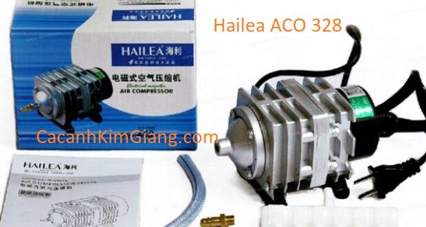 Máy sủi khí Hailea ACO 328 tạo oxy cho bể cá cảnh