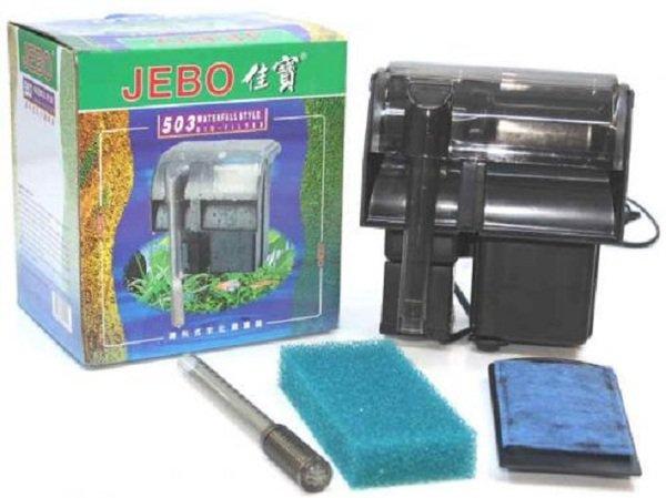 Máy lọc nước bể cá Lọc treo Jebo 503Máy lọc nước bể cá Lọc treo Jebo 503