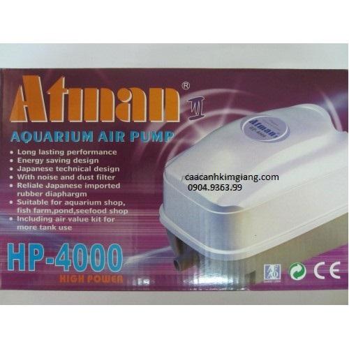 MÁY sục khí oxy Atman HP 4000