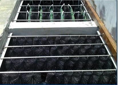 chổi lọc nước hồ cá koi , hệ thống lọc nước hồ koi
