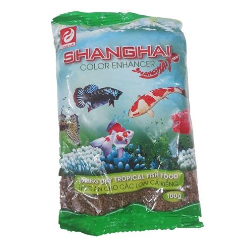 Thức ăn cho cá cảnh shanghai