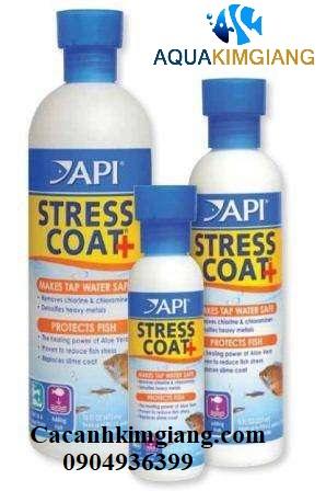 thuốc dưỡng cá Stress Coat API