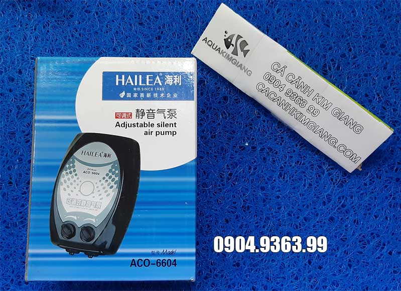 Máy sủi oxy siêu êm Hailea ACO 6604