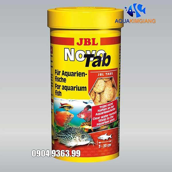 Cám dính JBL NovoTab 150g/250ml - Thức ăn hoàn hảo cho cá cảnh