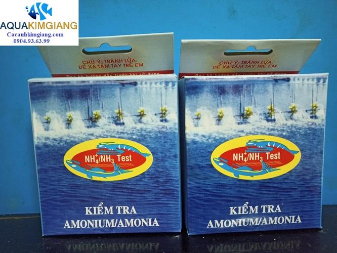 Test NH3/NH4- Kiểm tra nồng độ Amonium / Amonia trong nước
