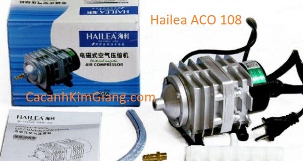 Máy sủi khí tạo oxy cho bể cá cảnh Hailea ACO 108