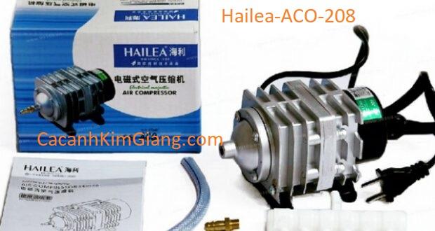 Máy sủi khí tạo oxy cho bể cá cảnh Hailea ACO 208