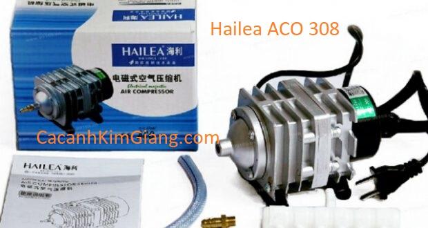 Máy sủi khí tạo oxy cho bể cá cảnh Hailea ACO 308