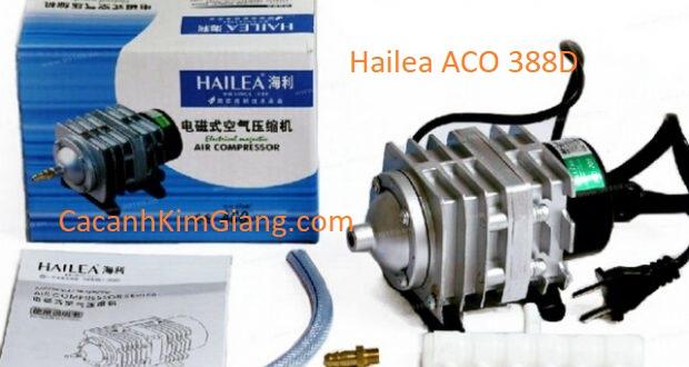 Máy sủi khí Hailea ACO 388D tạo oxy cho bể cá cảnh