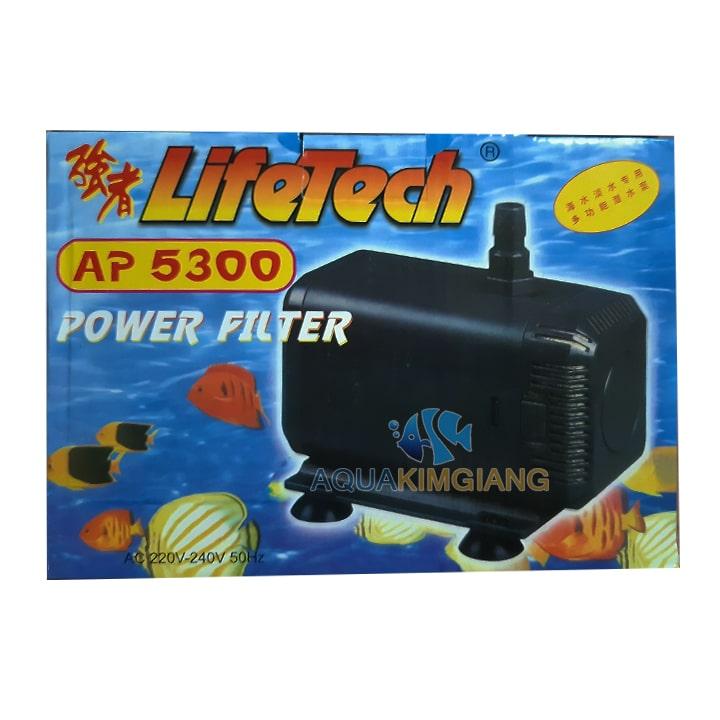 Máy bơm AP 5300 được sử dụng cho các bể cá koi, tiểu cảnh, hòn non bộ...