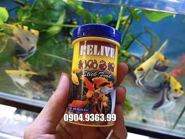 Cám dính Relive giàu dinh dưỡng cho cá cảnh