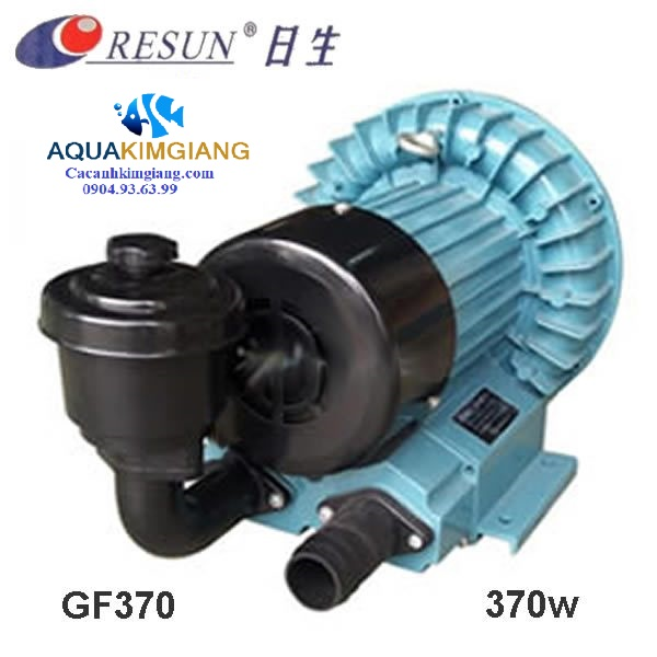 máy sủi khí bể hải sản resun gf 370