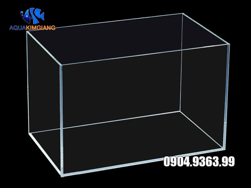 Bể cá ghép siêu trong để bàn kích thước 30cm, 40cm, 50cm, 60cm
